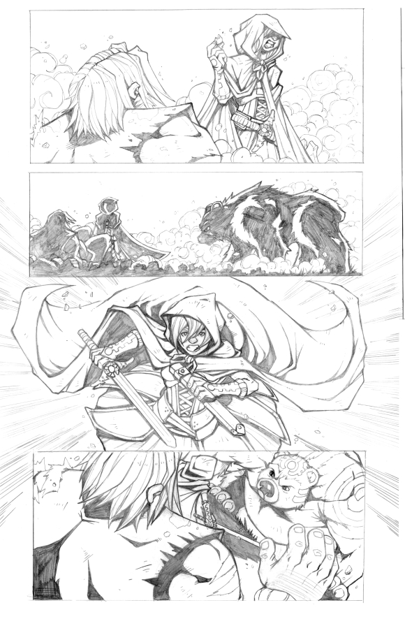 Battle For Ozellberg Issue 3 Preview by DarthSkooba