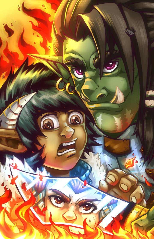 Zaidura Chronicles, Issue 2 Cover. by DarthSkooba