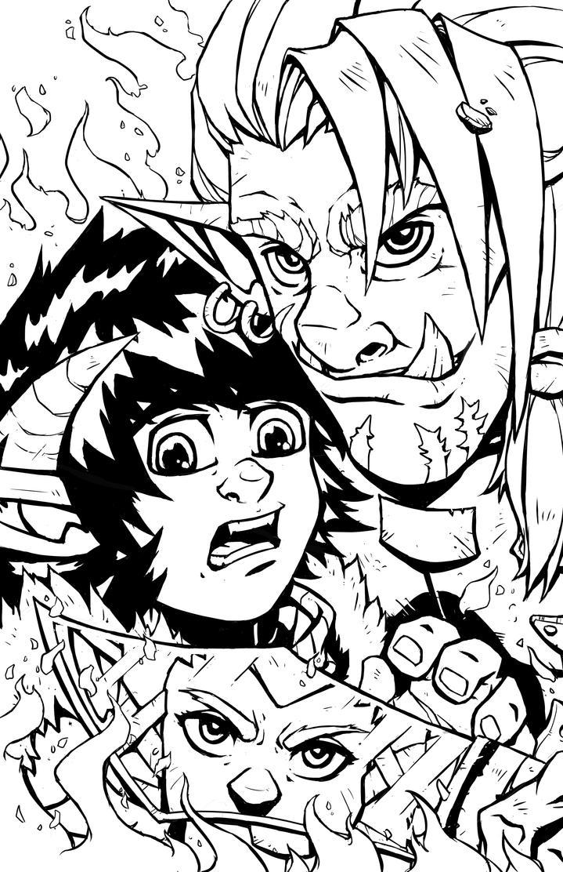 Zaidura Chronicles cover by DarthSkooba
