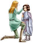 Estel and Legolas