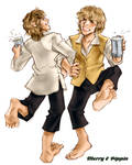Merry and Pippin Dance