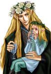 Legolas and Thranduil by idolwild
