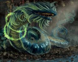 Poision Naga by Jessada-Art