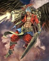 Angel of War by Jessada-Art