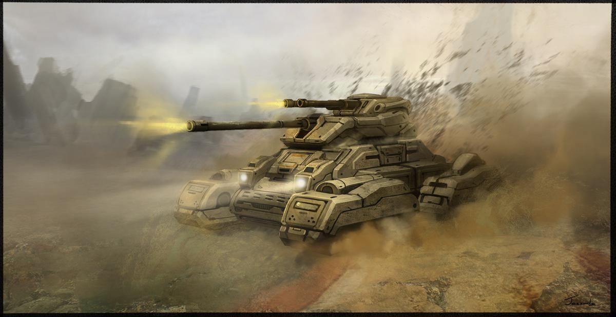 Tank Concept by Jessada-Art