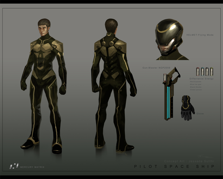 The gallery for --> Futuristic Body Armor Concept Art
