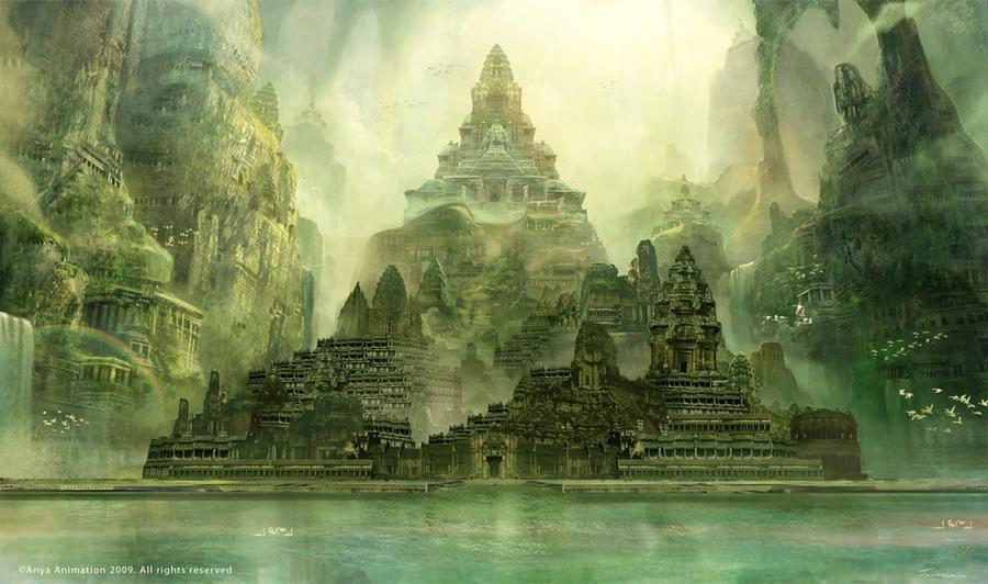Badal Castle Concept by Jessada-Art