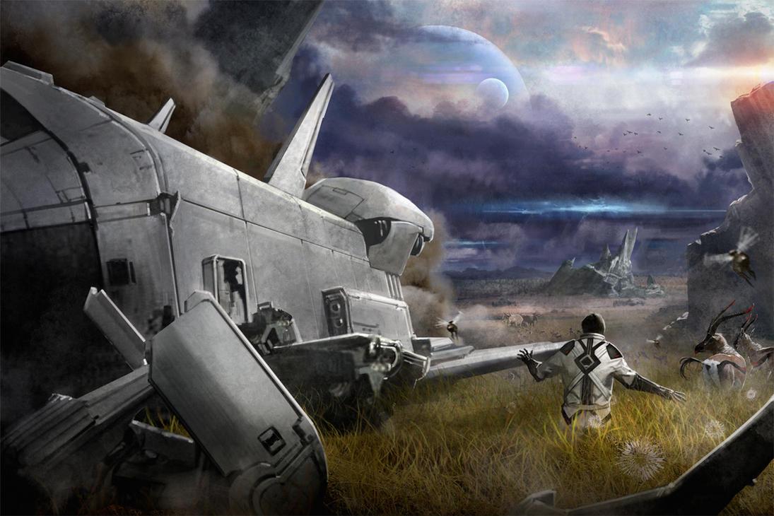 Battlefields of Silence by Jessada-Art
