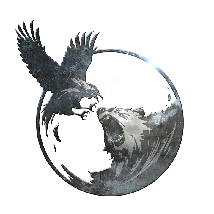 Raven and Bear by Jessada-Art