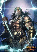 Zeus by Jessada-Art