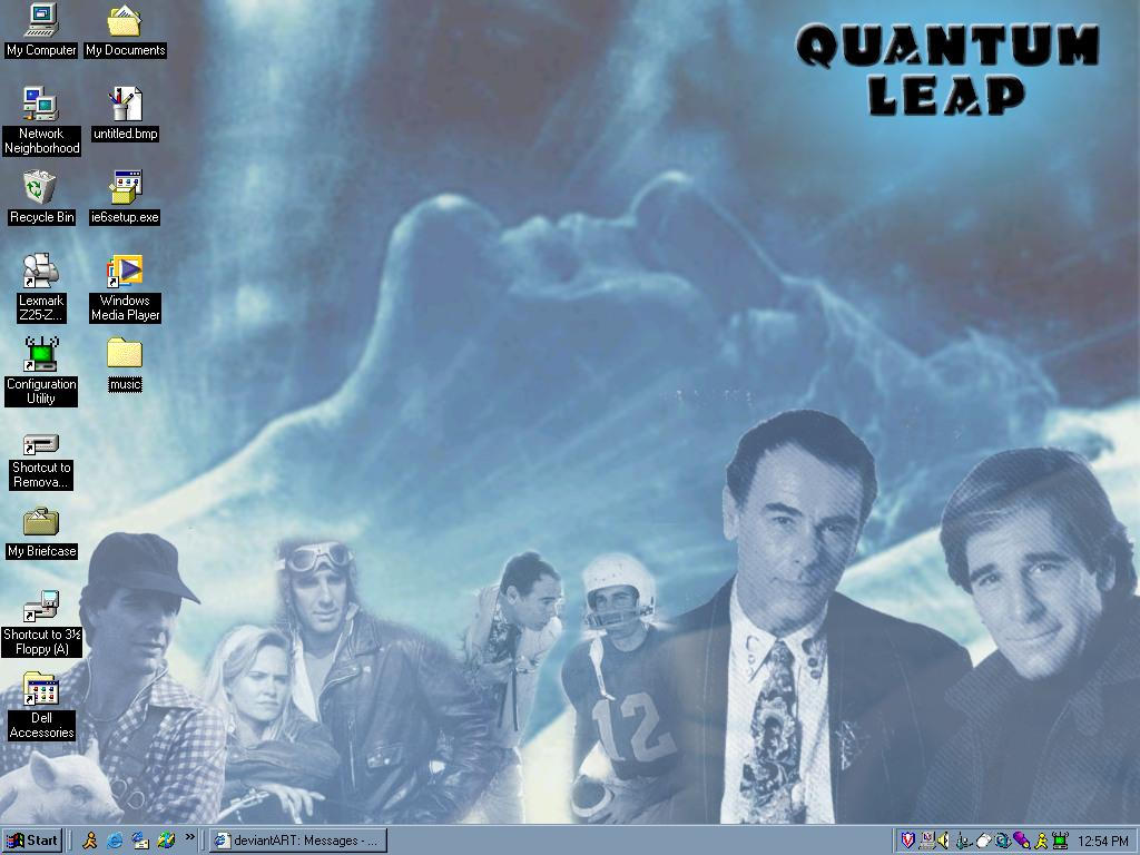 My Quantum Leap desktop