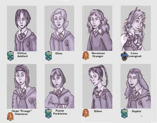 Hogwarts Yearbook 3 by Eliza-the-artist