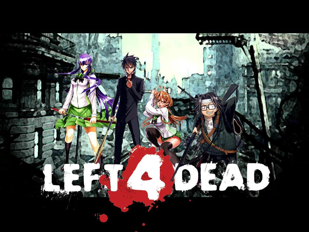 Highschool of the Dead - L4D by NikeW