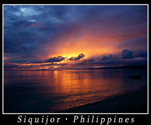 Siquijor sunset by wioombeen