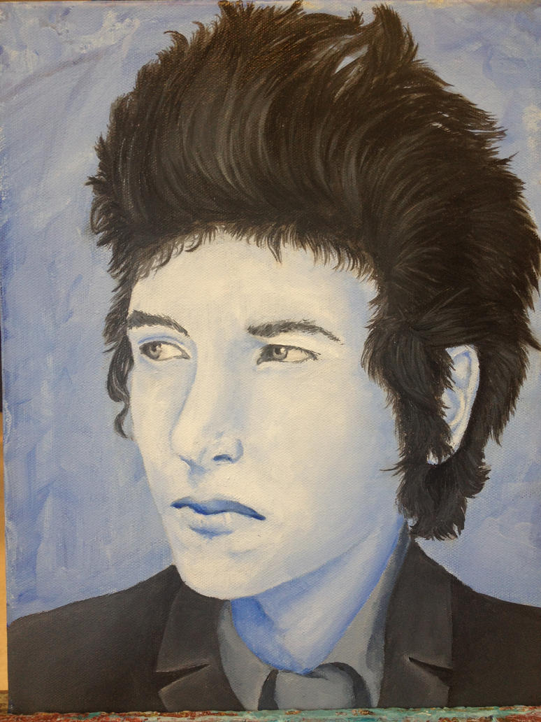 Bob Dylan finished by vulpix