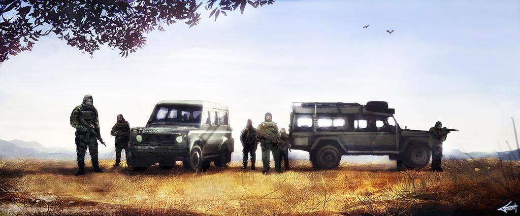 Hunter Concept update by abigbat