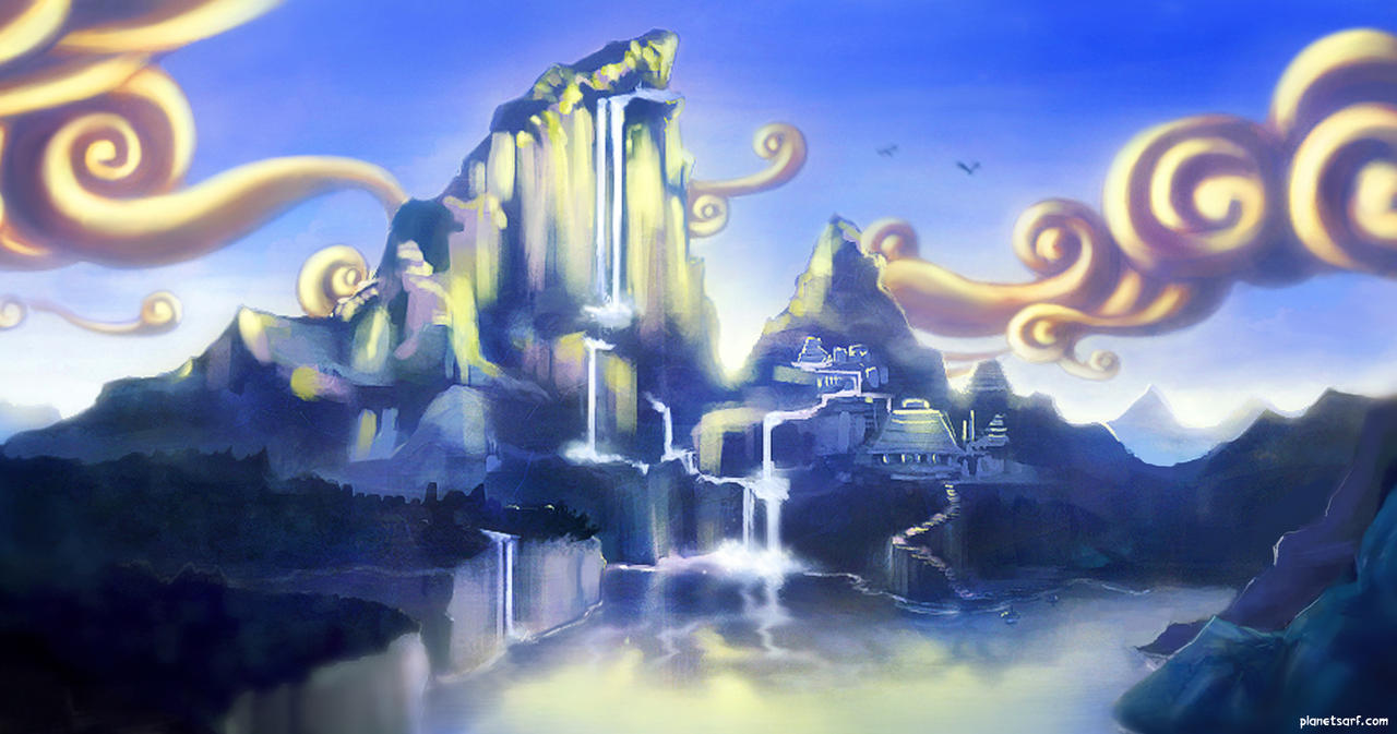 SARF Mountain Sketch by abigbat