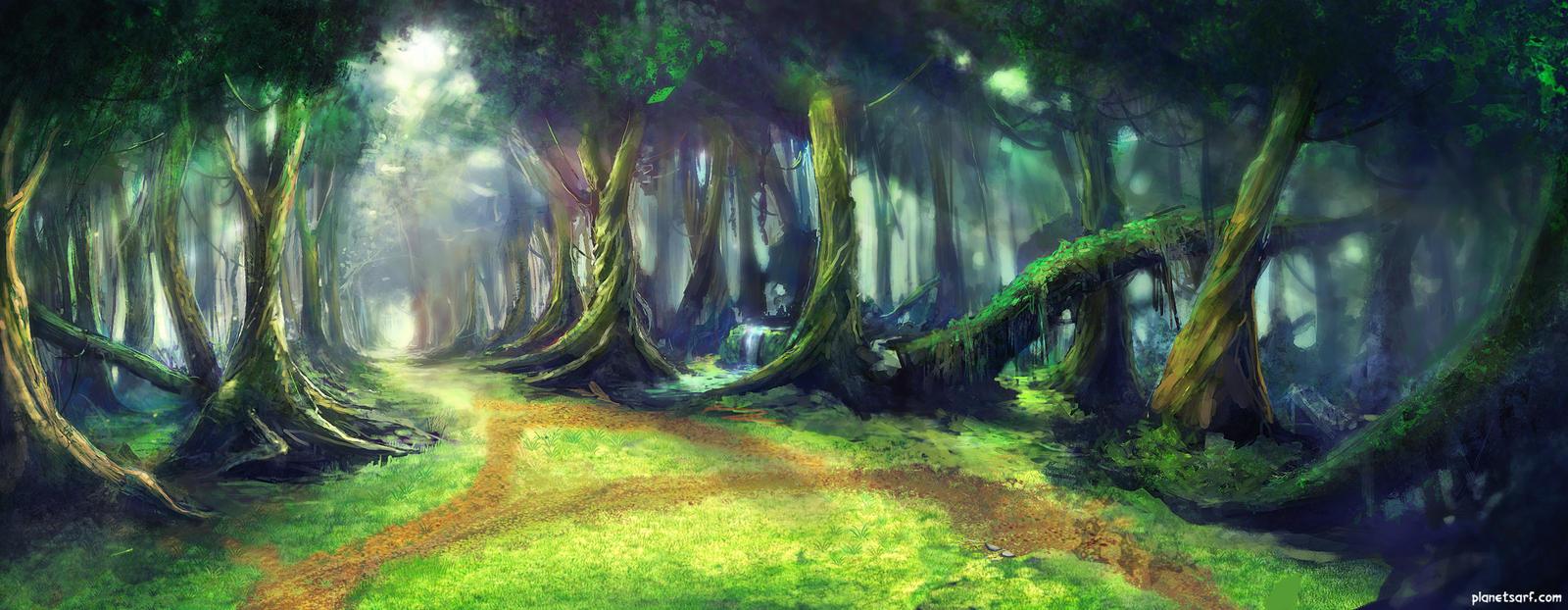 SARF Jungle Background by abigbat