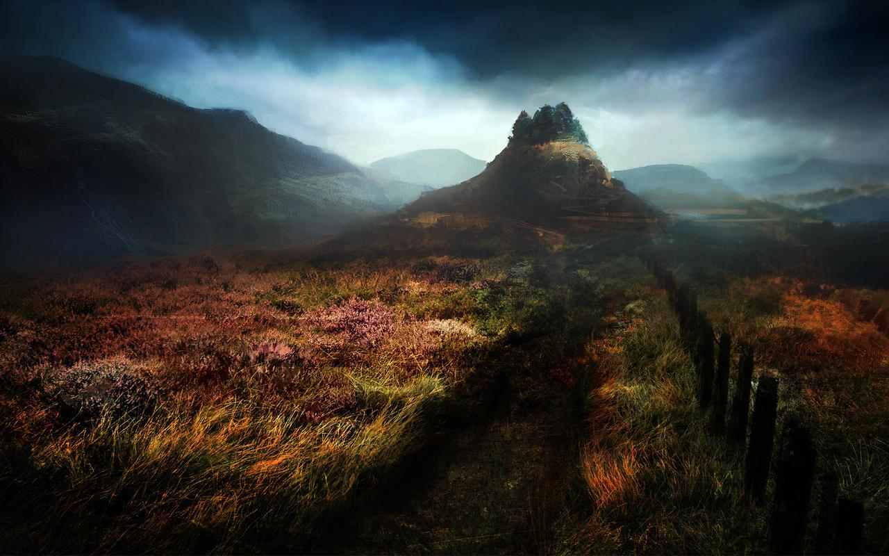 The Thirty Nine Steps - Misty Hill by abigbat