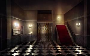 The Thirty Nine Steps - Lobby by abigbat