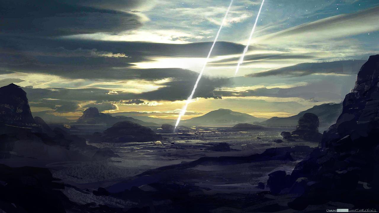Film Concept - Landing by abigbat