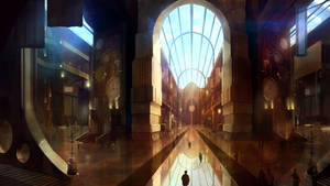 The Ship: Full Steam Ahead - Hall Concept by abigbat