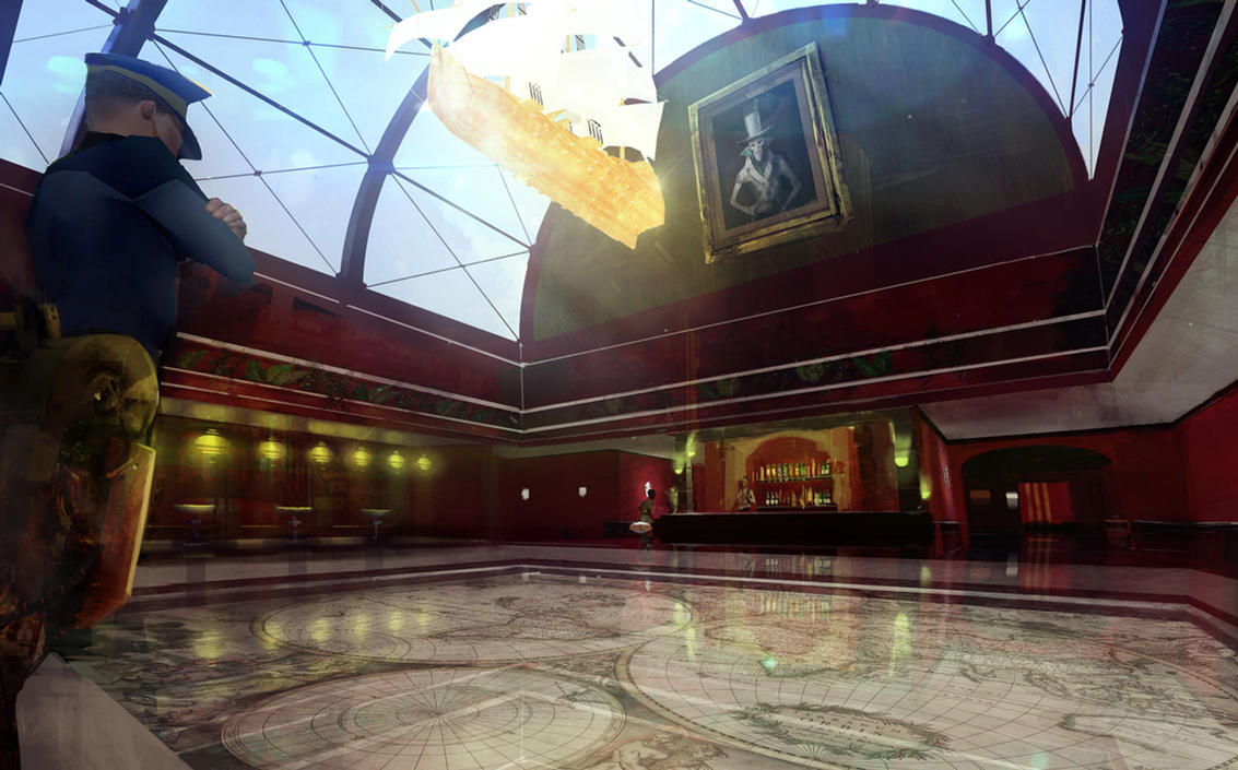 The Ship: Full Steam Ahead Ballroom Concept by abigbat