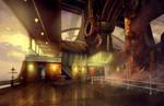 The Ship: Full Steam Ahead Deck Concept by abigbat