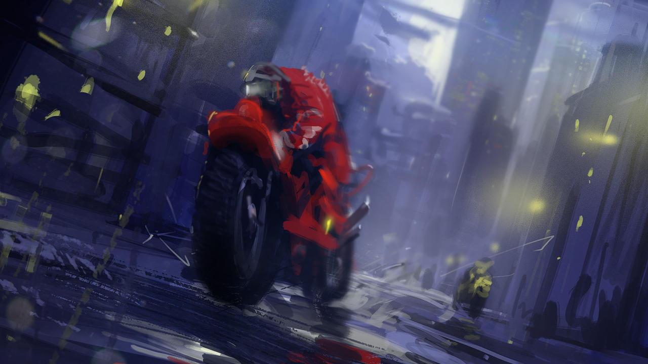 Racer X by abigbat