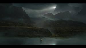 The Darkest Mountain by abigbat