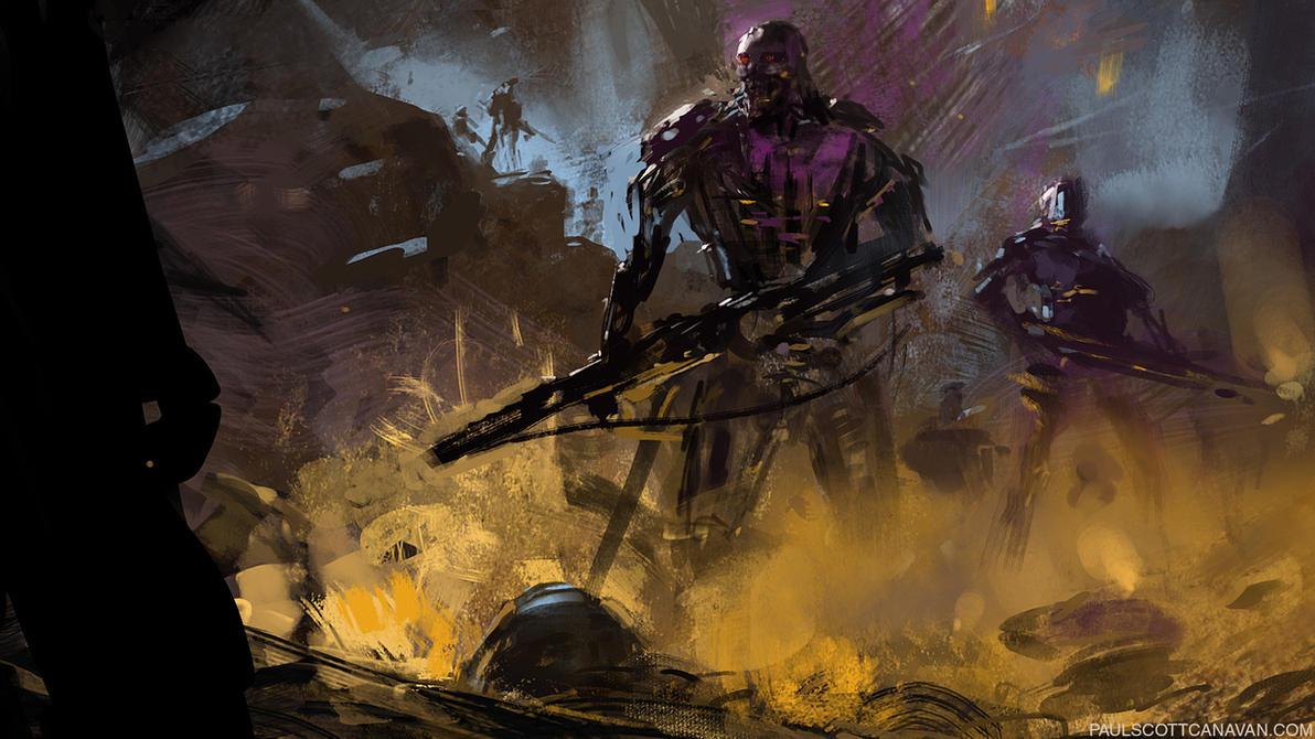Terminator by abigbat