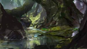 Forest by abigbat