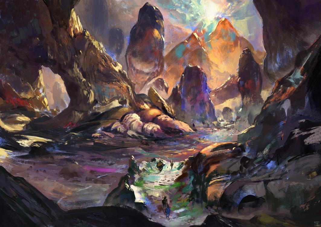 Wizard Quest by abigbat