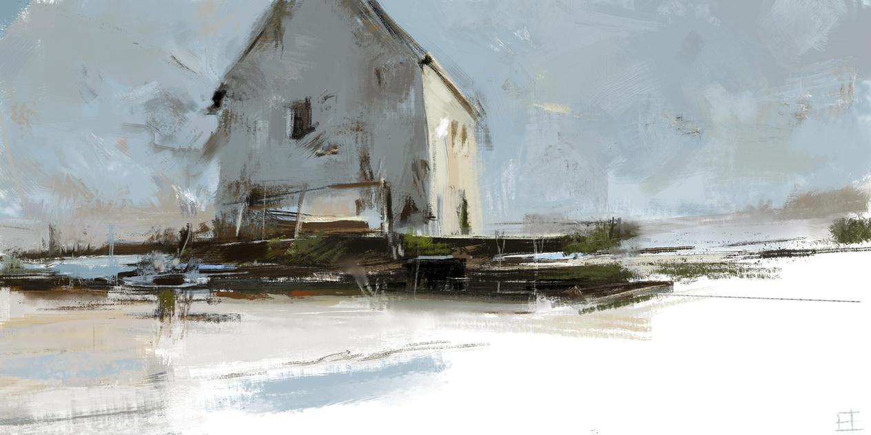 Tibor Nagy Study by abigbat