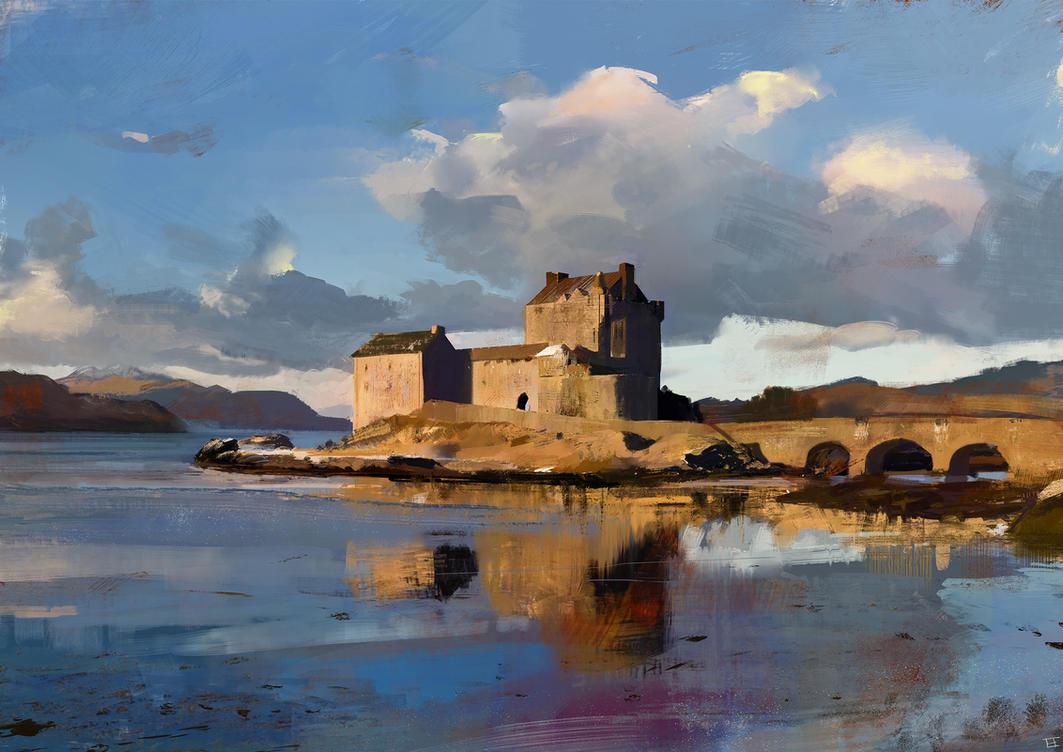 Home - Eilean Donan by abigbat