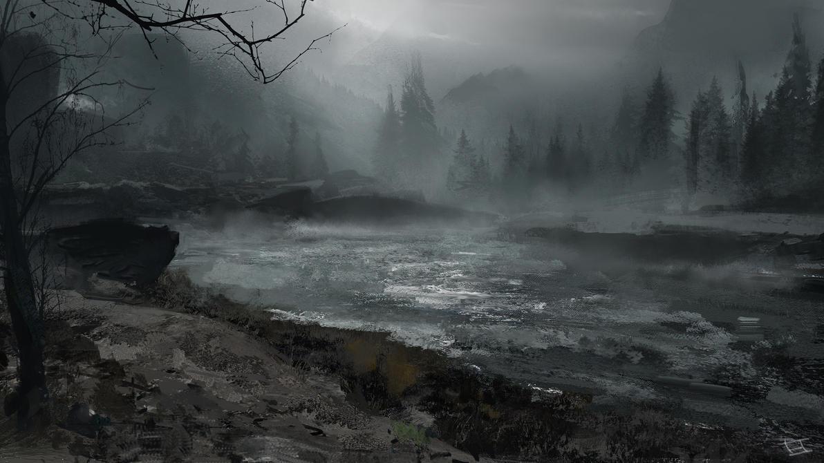 Spooky Lake by abigbat