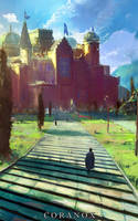 Coranox - Castle Coranthis by abigbat