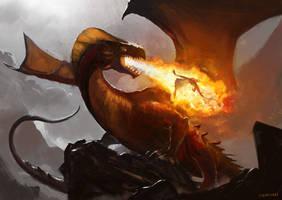 Dragon Lord by abigbat