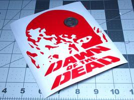Dawn of the Dead Vinyl Decal by MrCadavero