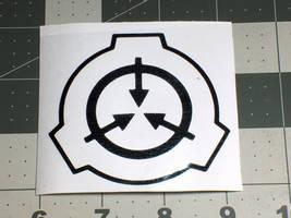 SCP Vinyl Decal by MrCadavero
