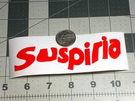 Suspiria Vinyl Decal by MrCadavero