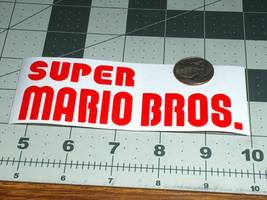 Super Mario Bros Vinyl Decal by MrCadavero