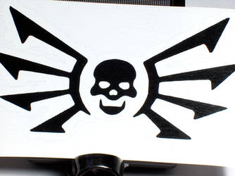 Strogg Logo Vinyl Decal by MrCadavero