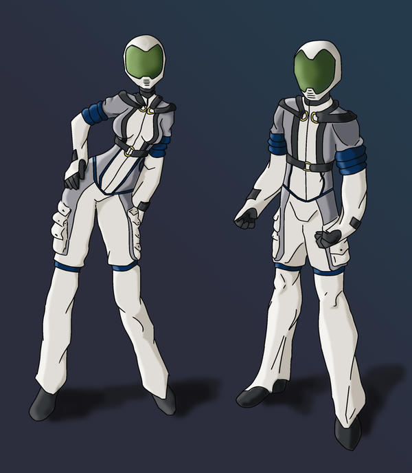 New Space Suit Design For WC By Ielle77 On DeviantArt