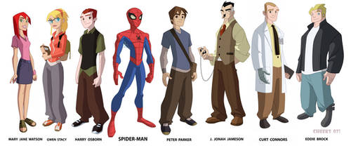 Spectacular Spider-man by cheeks-74