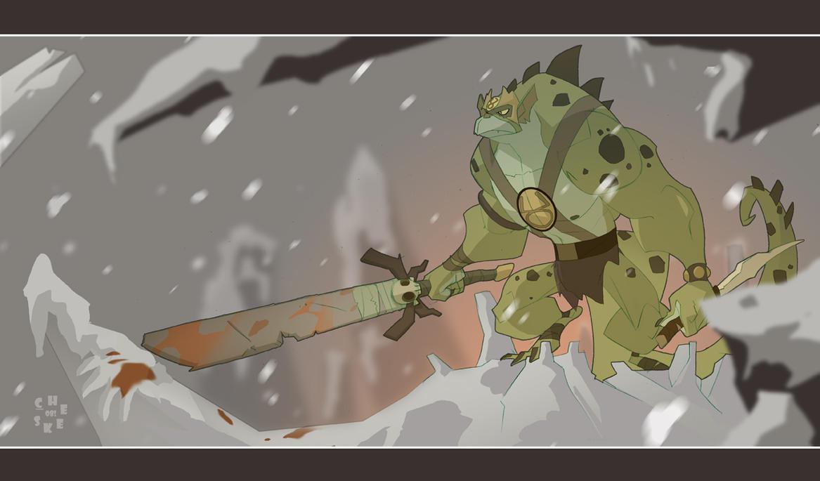 Reptilian YeEEEEEssssSSS? by cheeks-74