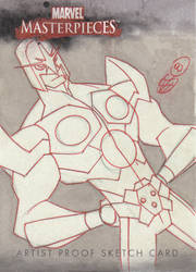 Sketchcard commission Nova by cheeks-74