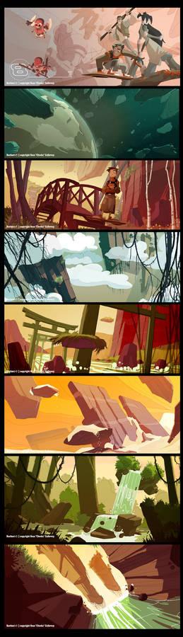 Bastion's 7 storybook peek