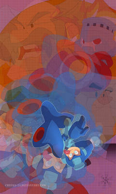 Mega Man colored with Audio