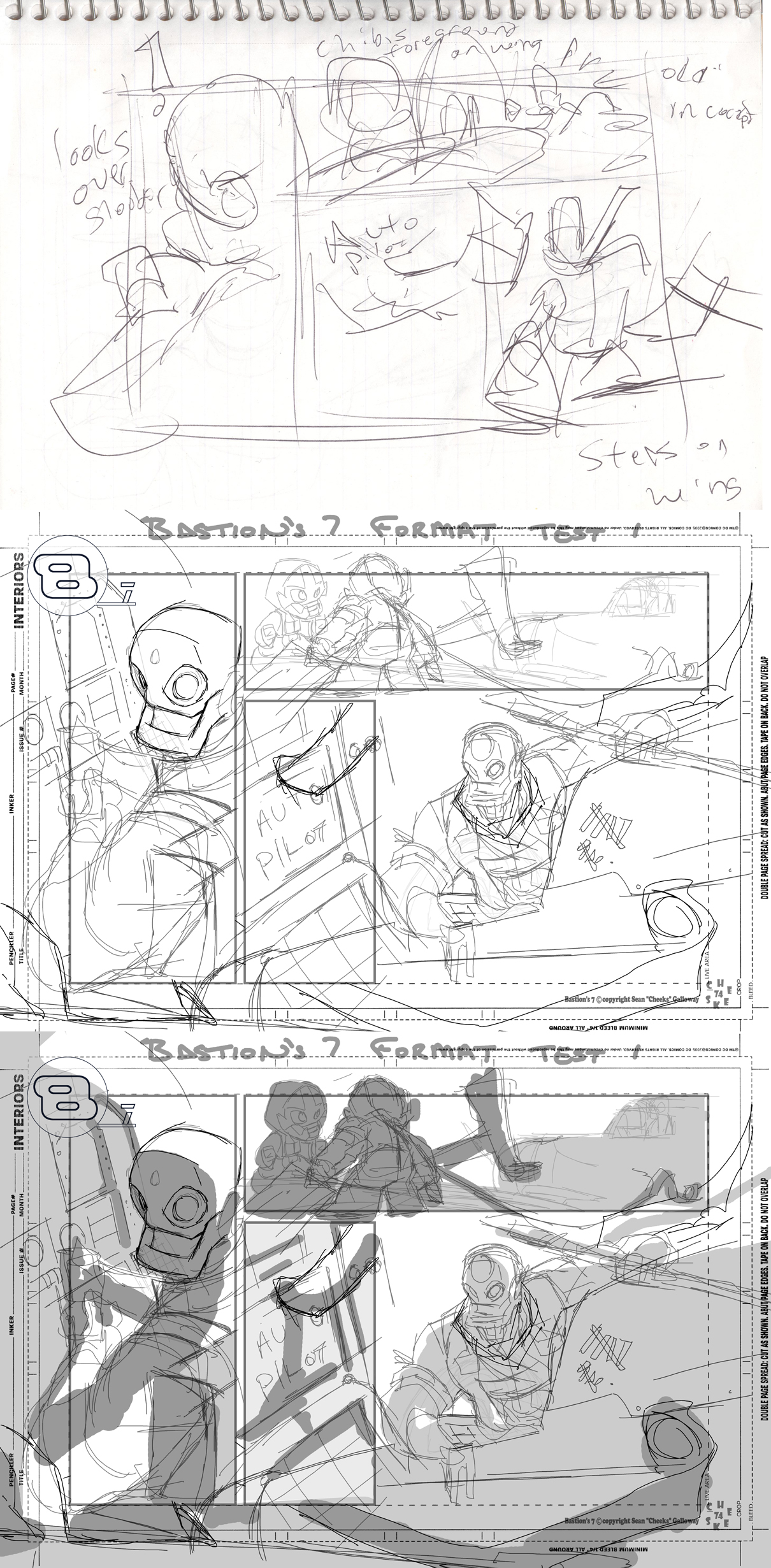 Bastion's 7 Short Story P2 WIP by cheeks-74